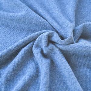 Tricot côtelé bleu